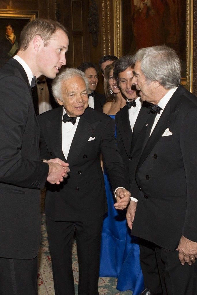 bb726140d Ralph Lauren Honored by Royal Marsden Cancer Charity at Windsor Castle -  Slideshow