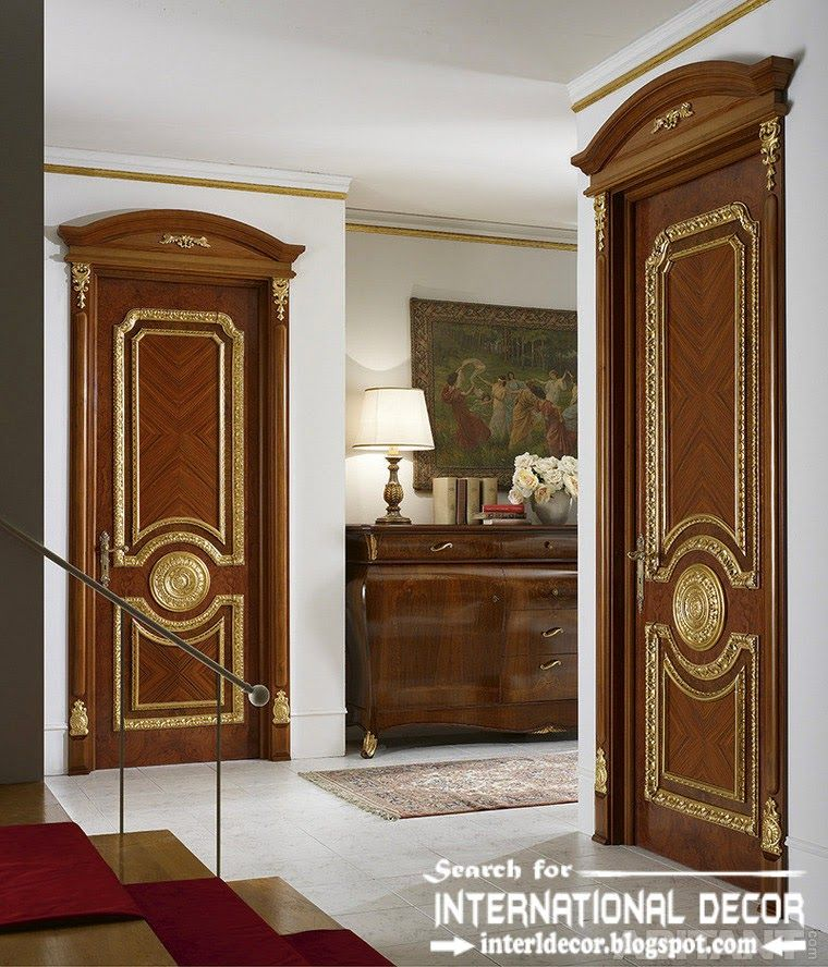 Classic Door Design doors French Empire Style Interiors Top Designs Of Luxury Interior Doors For Classic Interior