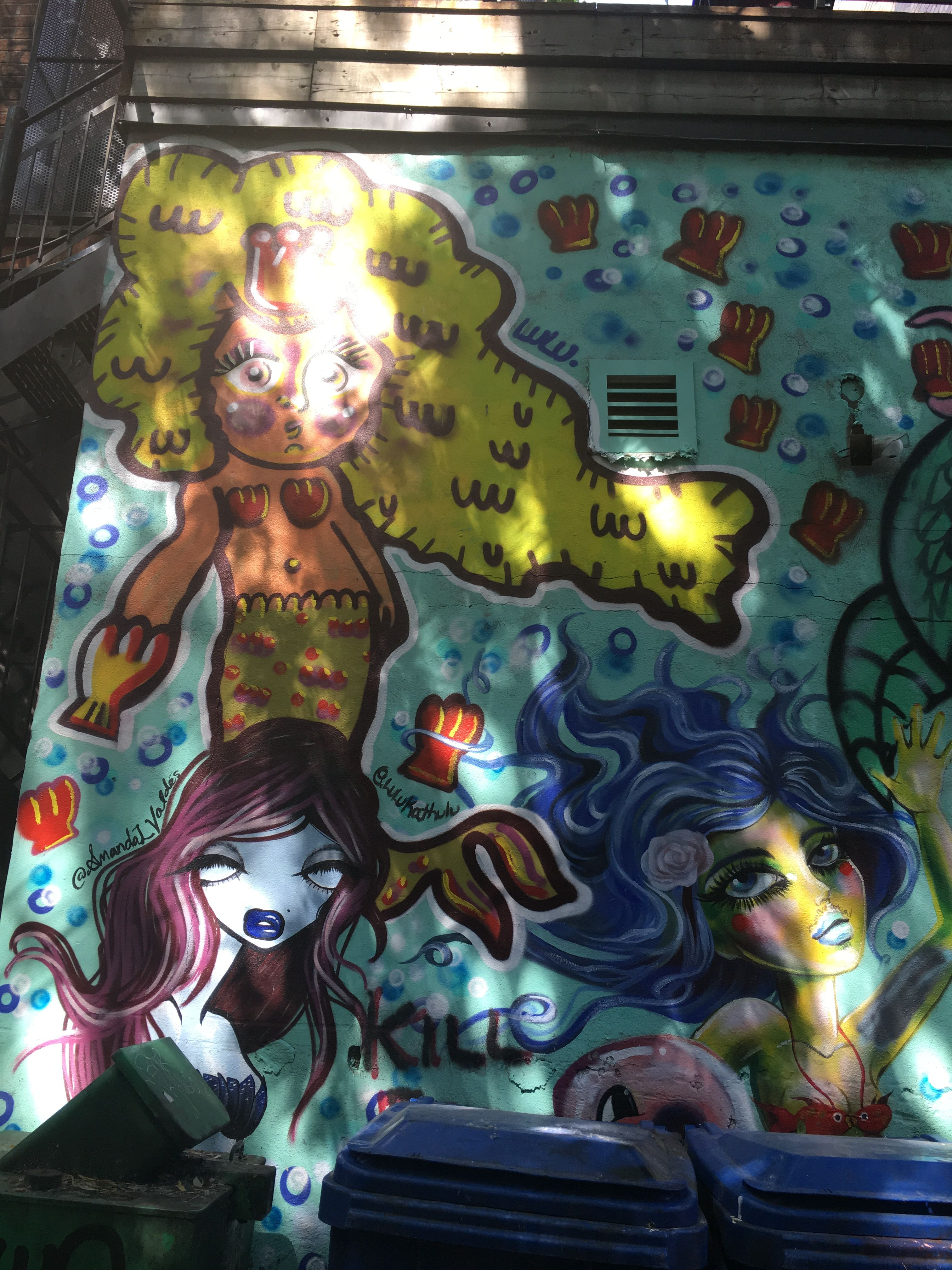 Pin by cuisines Nuenza on MONTRÉAL Graffiti Art Anime