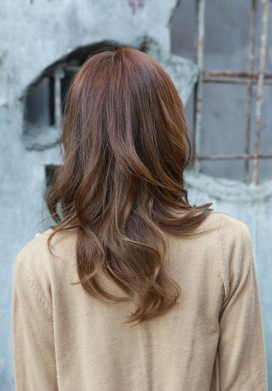 Asian Wavy Hairstyles For Long Hair : Korean long hairstyles for girls women 2017
