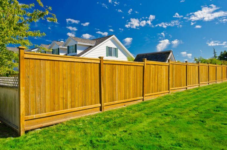 vallas de jardin de madera