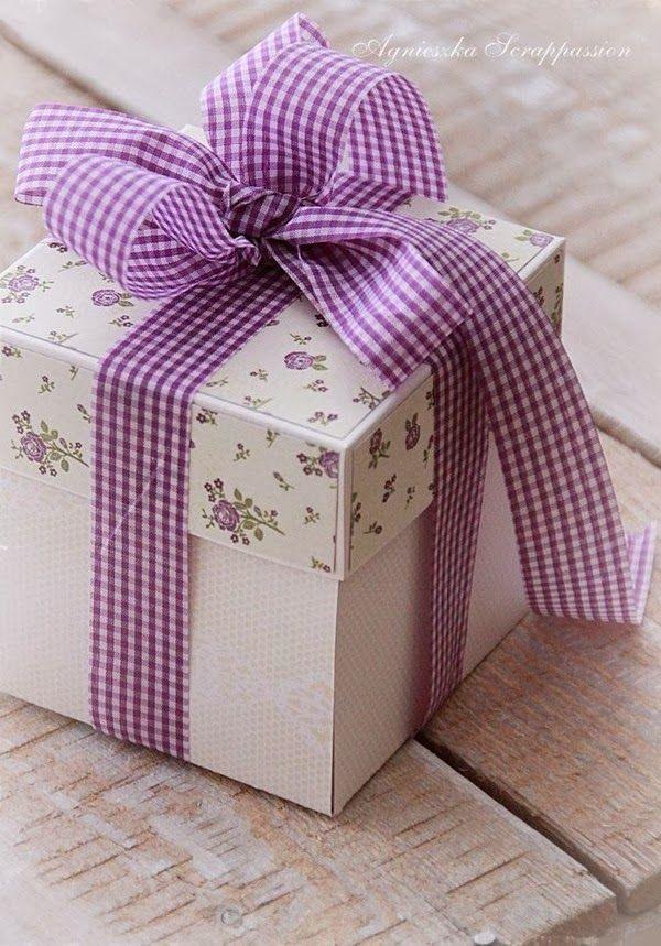 caixa bonita de presente