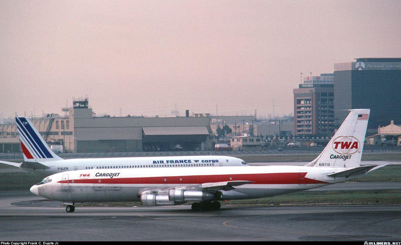 Trans World Airlines - TWA Cargojet Boeing 707-331C - Los Angeles - International (LAX / KLAX) - USA, California, October 1977 (Frank C. Duarte Jr.)