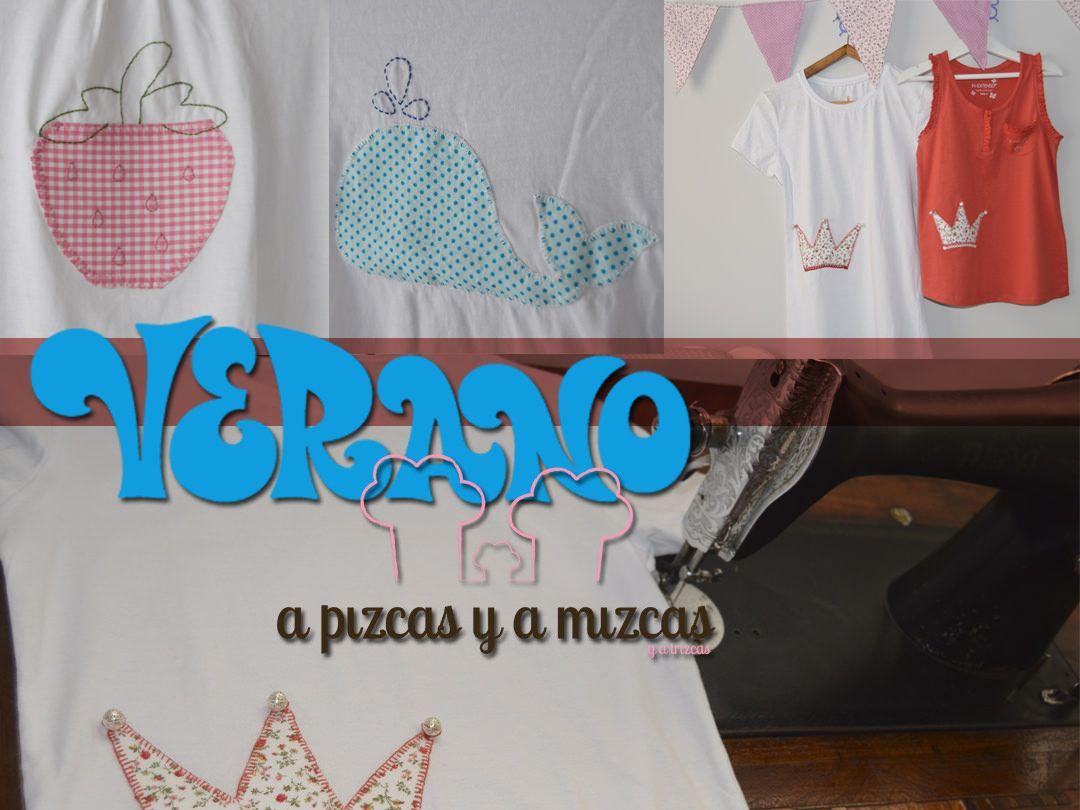 Camisetas pizcas para el verano  297efb83b2c2