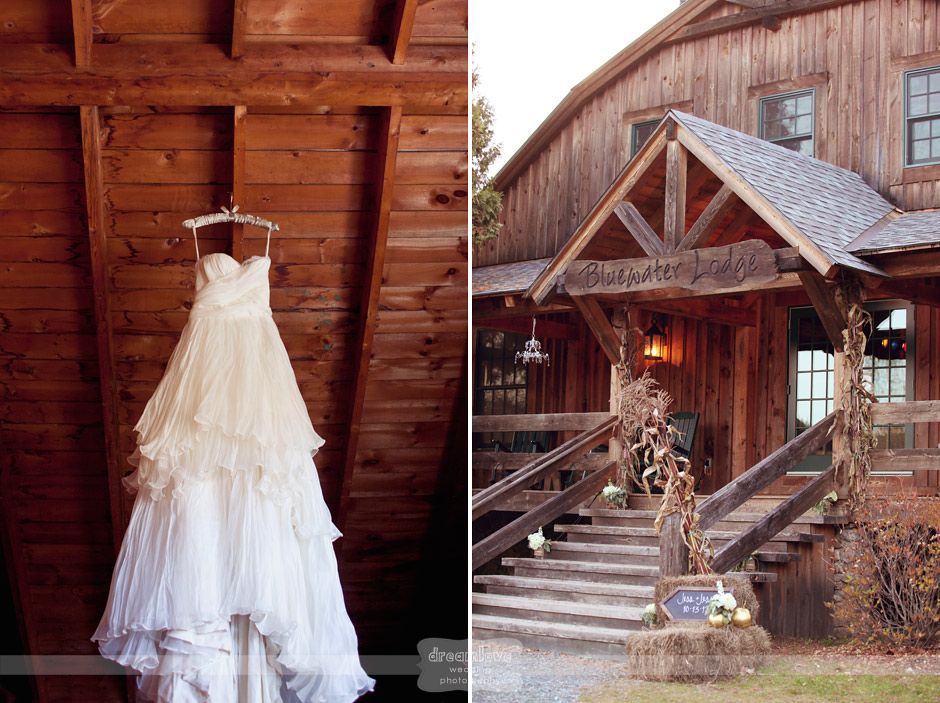 the bluewater farm in andover nh this rustic wedding venue has the