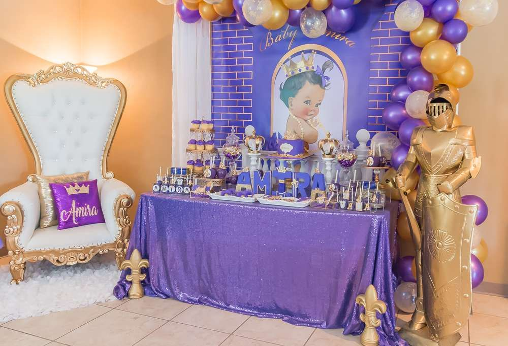 Royal Princess Baby Shower Party Ideas Photo 1 Of 23 Baby