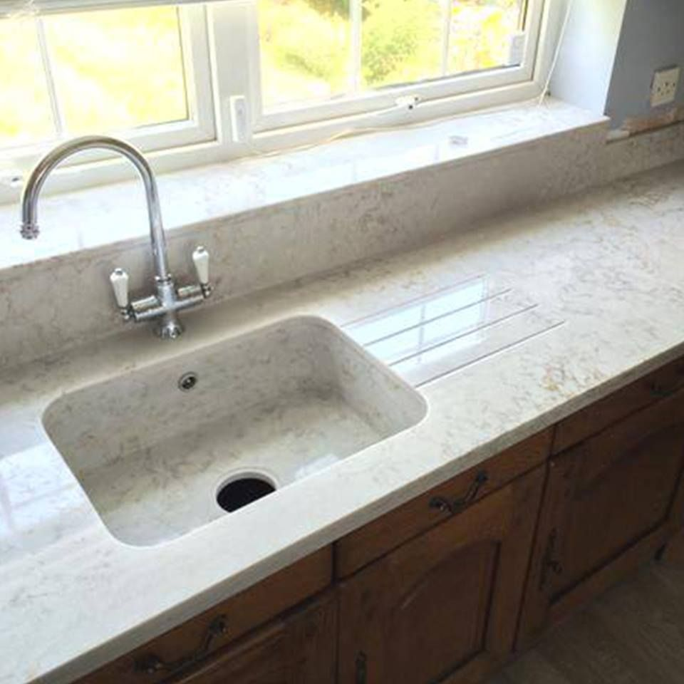 Newly installed silestone pulsar looks stunning with an for Silestone kitchen sinks