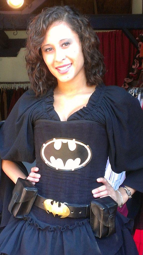 2abbf1468b Batman Custom Outfit by SilverLeafCostumes on Etsy