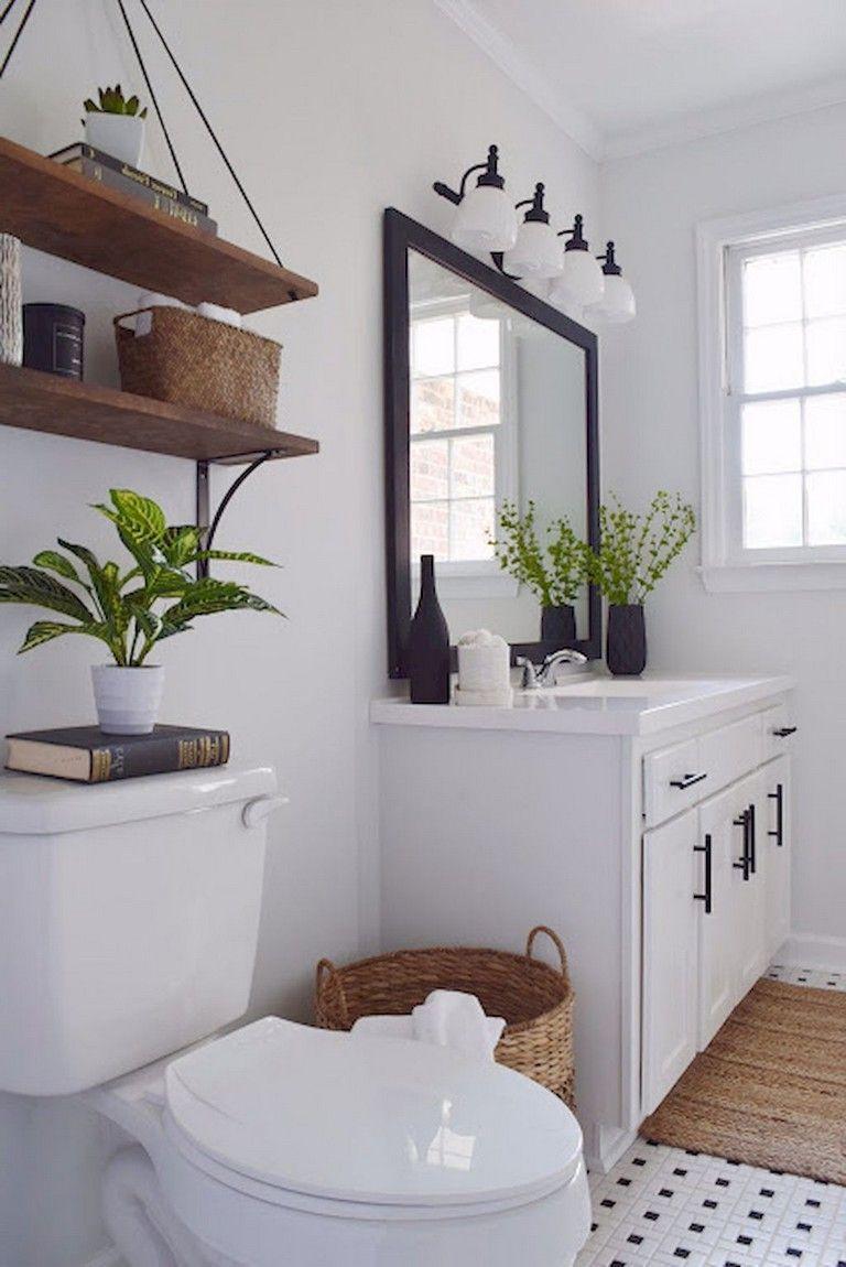 32 Stunning Farmhouse Master Bathroom Ideas Farmhouse Master Bathroom Rustic Master Bathroom Bathroom Remodel Master