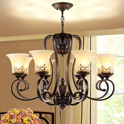 LightInTheBox Island Country Vintage Style 8 Lights Chandeliers LED ...