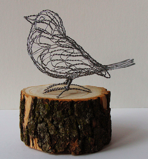 Awesome U2020Make A Wire Bird   These Are SO CUTE   Many Examples At Flickr Http