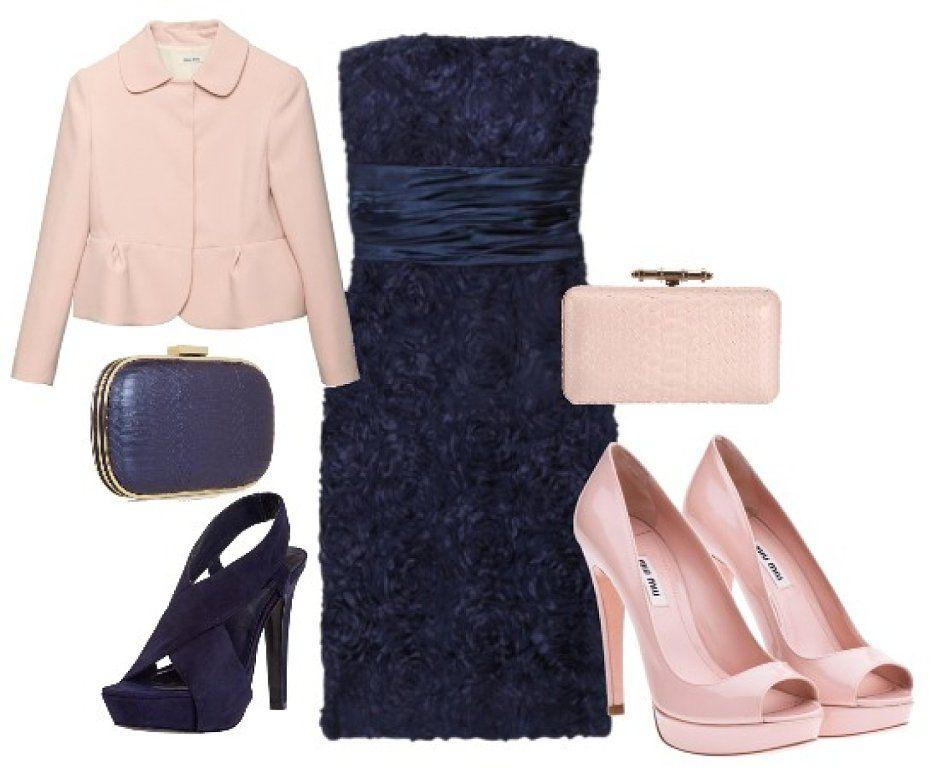 Marino O Rosa Accesorios Para Vestido Azul Zapatos Para Vestido Azul Vestidos Azules