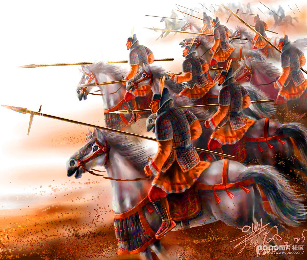 Charge Of The Imperial Han Chinese Cataphracts In Mongolia