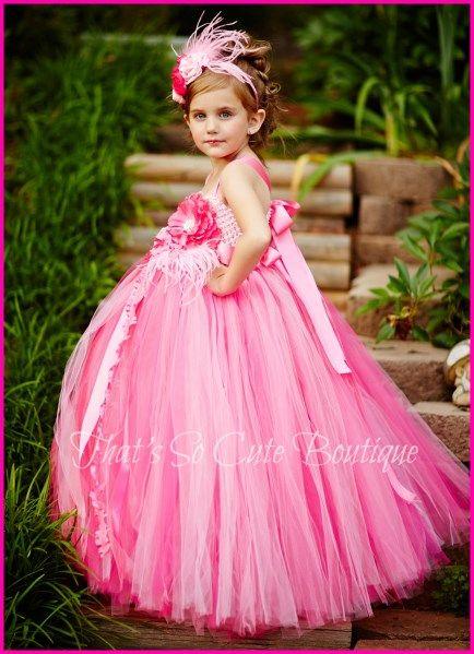17 Best images about Flower Girl Tutu Dresses on Pinterest  Girl ...