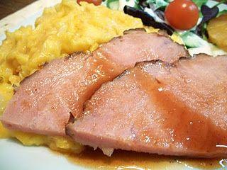 Crock Pot Honey BBQ Ham