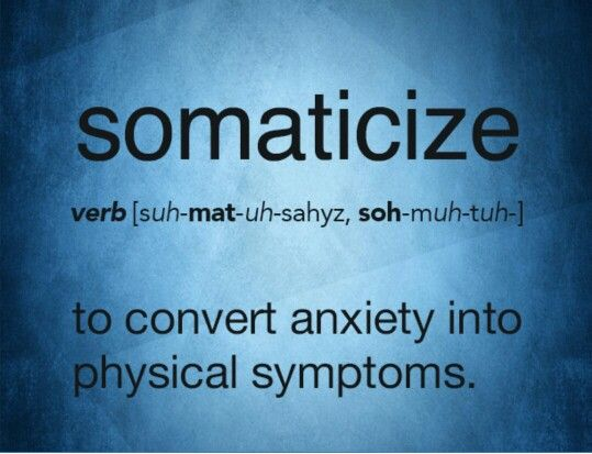 Somaticize