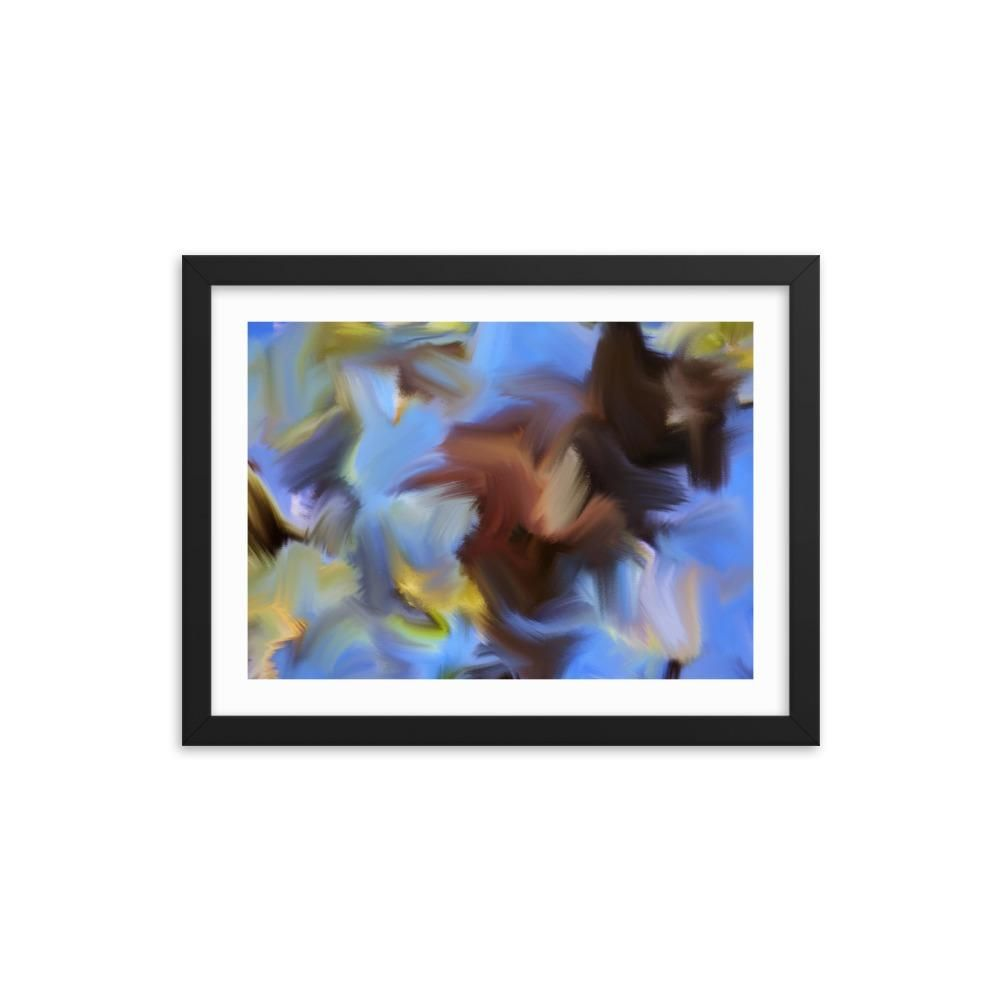 Spring Twigs Art Print - Enhanced Matte Print - White Border, Frame, 16×12 #twigart