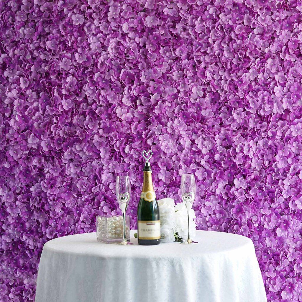 how to make a flower wall panel