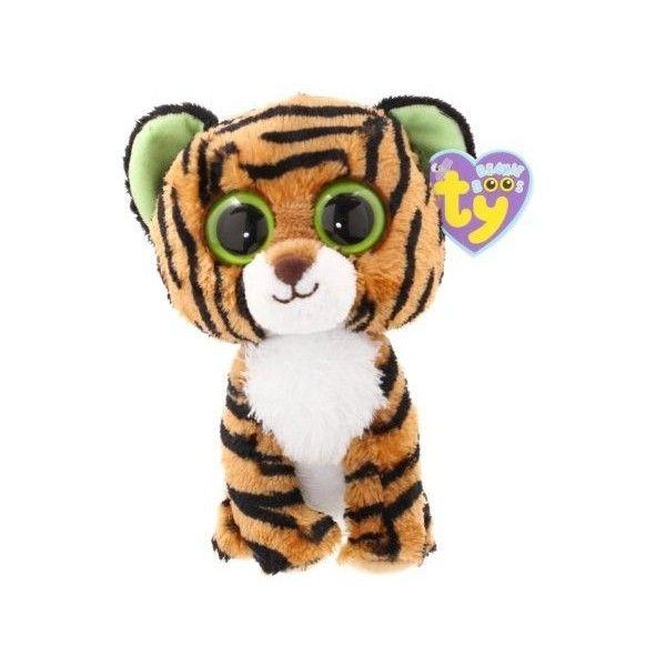 ecc5d298715 Amazon.com   Ty Beanie Boos Stripes Tiger   Plush Animal Toys   Toys  ...  ( 6.09) ❤ liked on Polyvore featuring stuffed animals