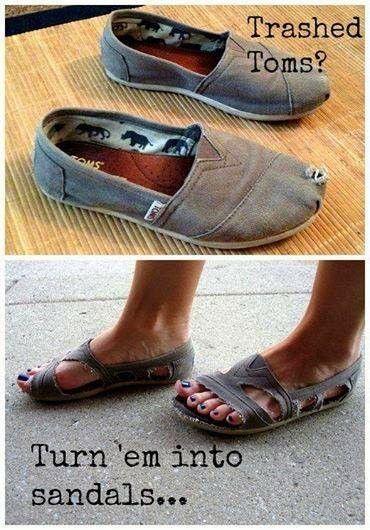 Make sandals