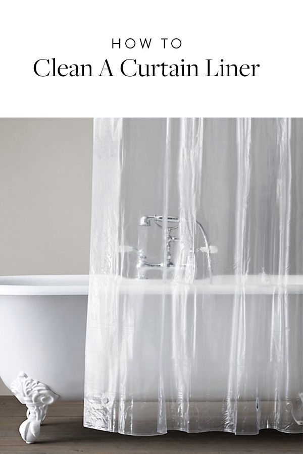 How To Clean A Moldy Shower Curtain Liner Clean Shower Curtain