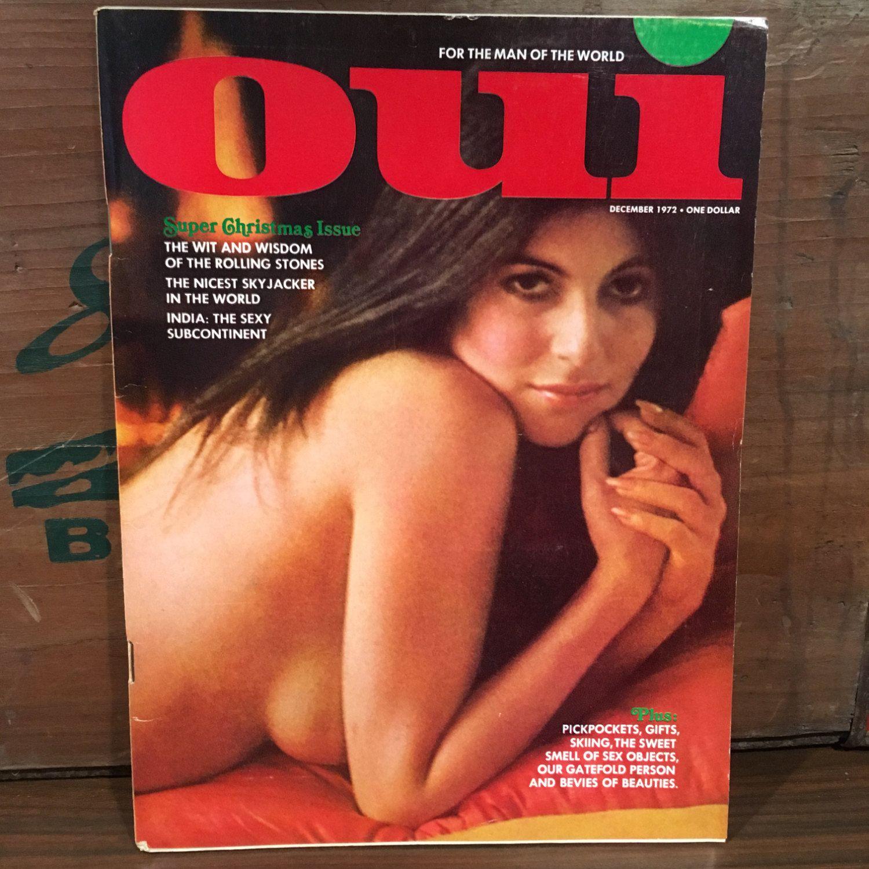 Oui centerfold nude magazine