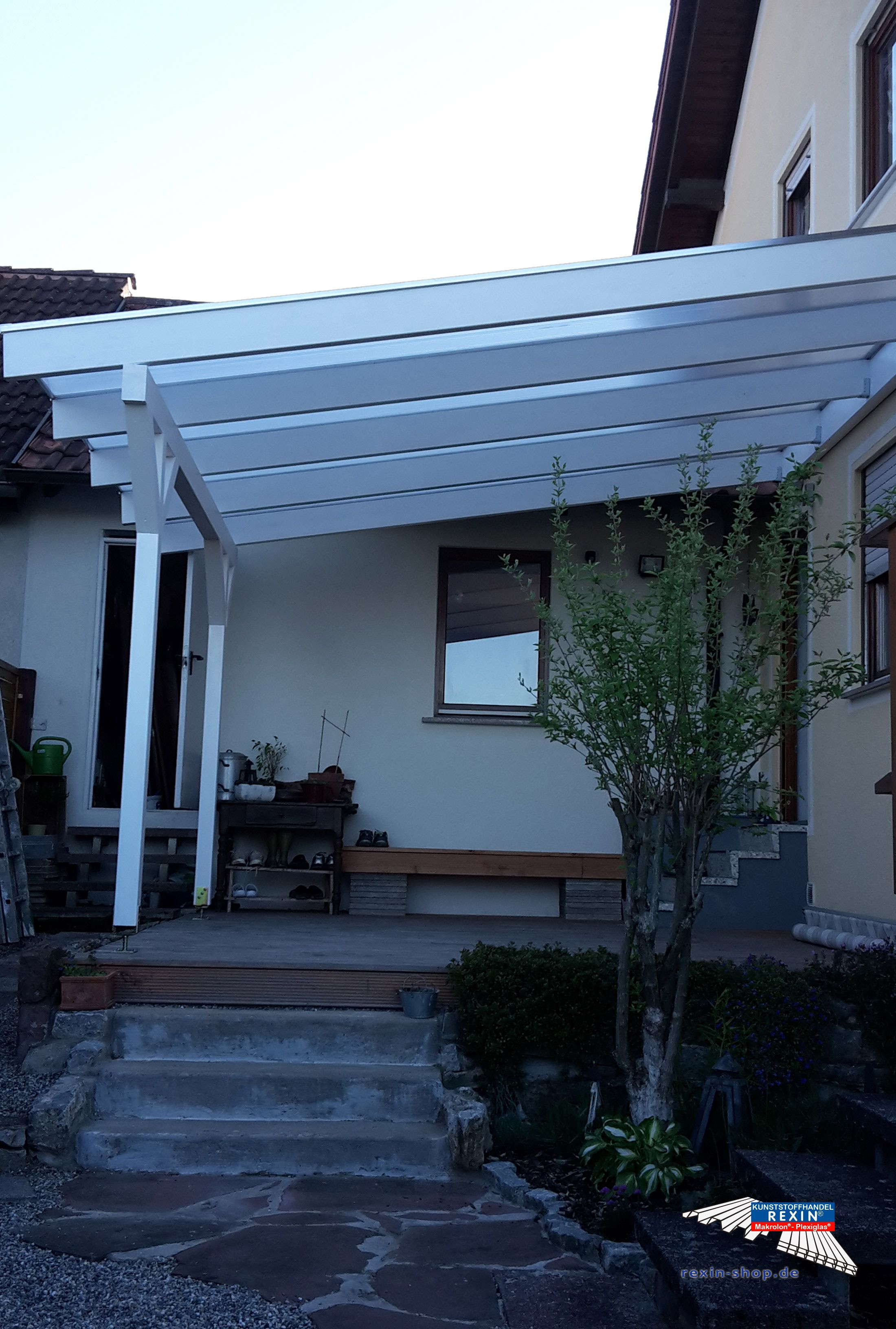 Ein Holz Terrassendach Der Marke Rexocomplete Xxl 4m X 4 5m In Der