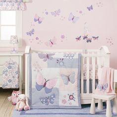 Photo of Details about Crib Bedding Set 3 Pc Nursery Bedroom Infant Baby Newborn Girl Comforter Sheet