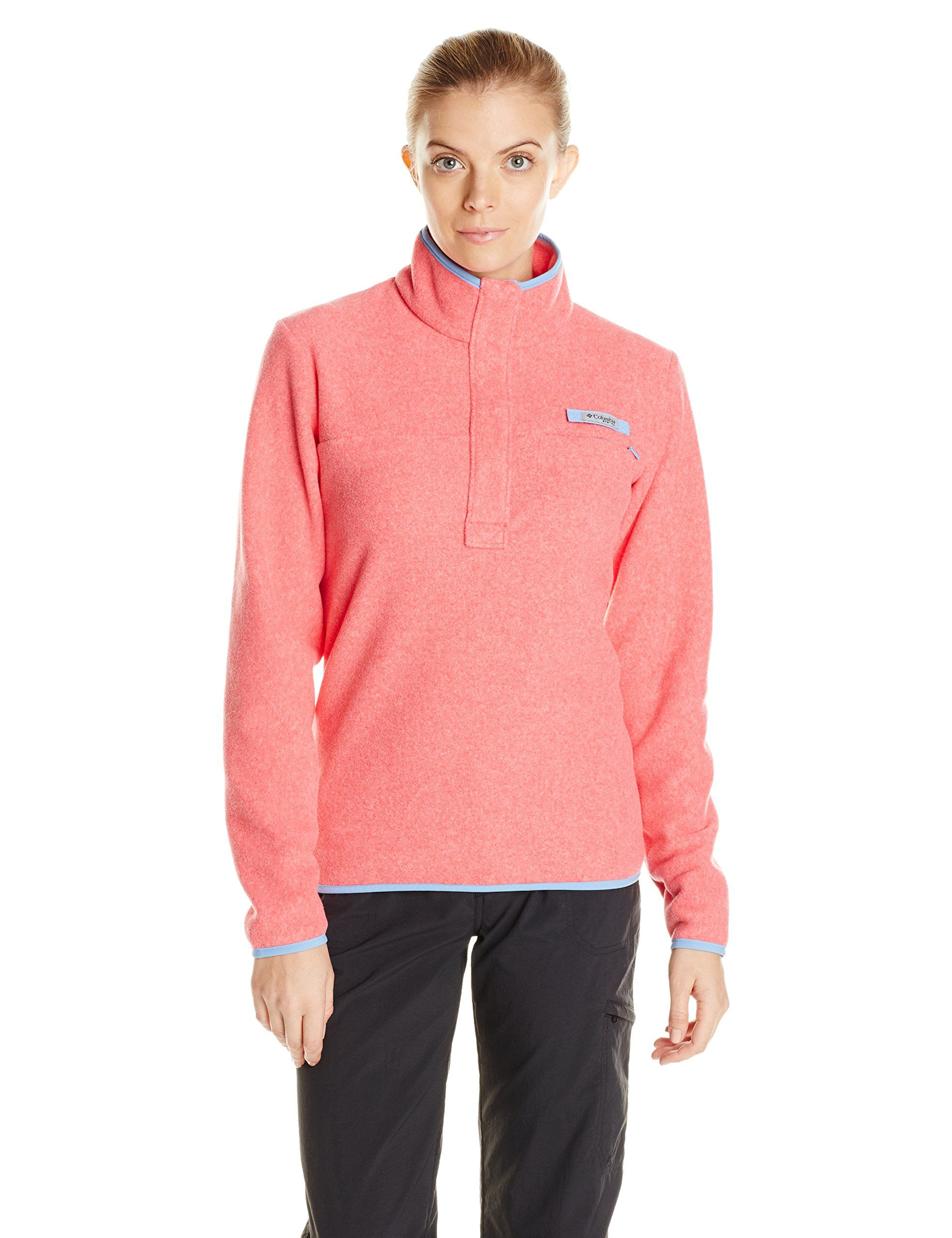 Amazon.com: Columbia Sportswear Women's Harborside Fleece Pullover ...