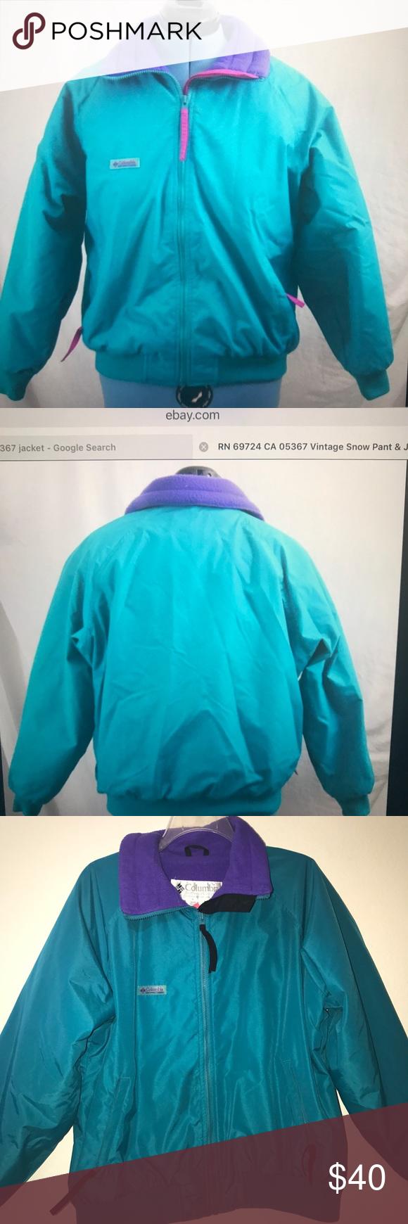 Vintage columbia ski jacket sportswear brand columbia sportswear