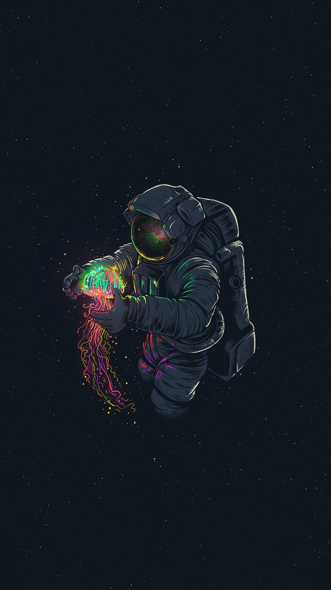 Astronaut Hd Portrait Wallpaper Wallpaper Earth Space Artwork