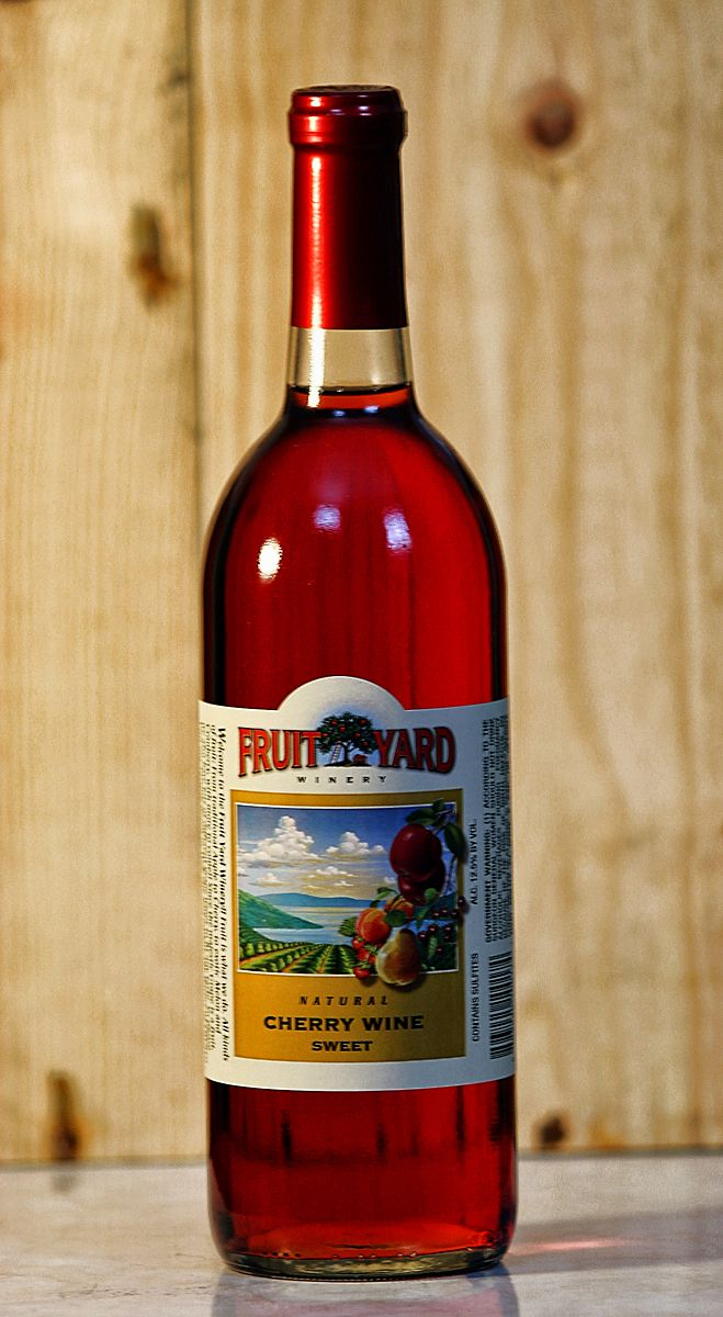 Fruit Yard Winery Cherry Wine Finger Lakes Cherry Wine Wine New York Wineries
