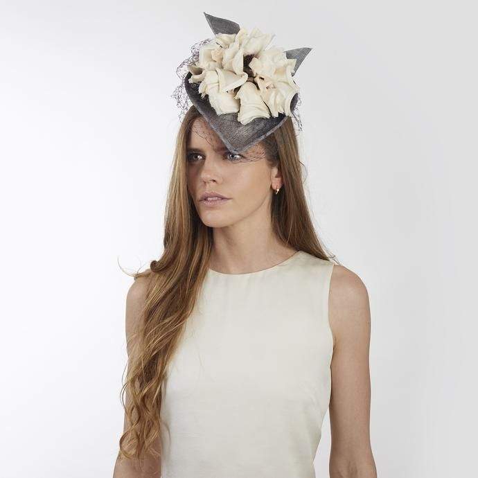 0e610b2ade446 Azzurra - Jess Collett Milliner - Ascot Hats - Wedding Guest Hats ...