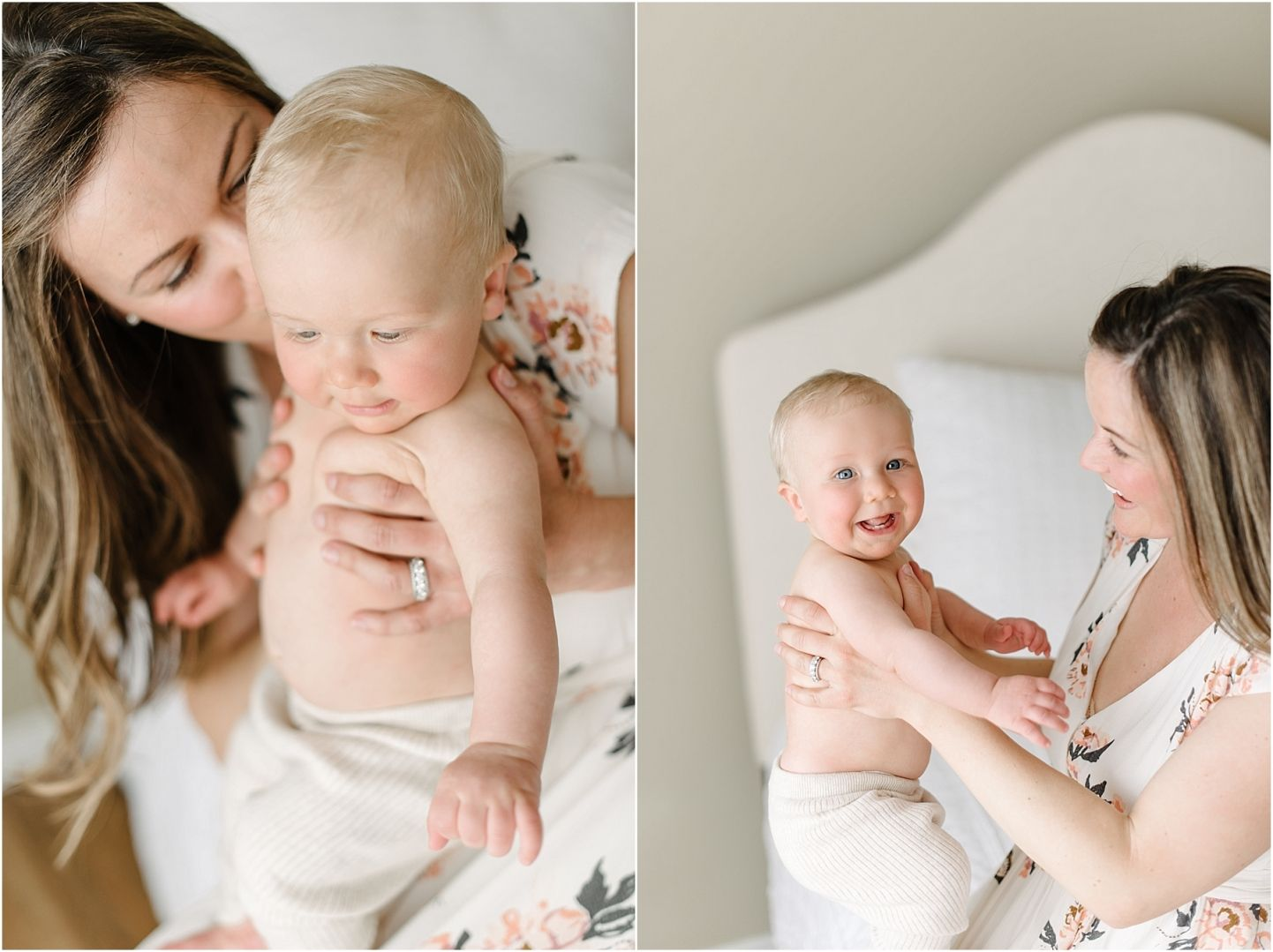 He was just about the happiest baby I have photographed! It was so nice seeing this beautiful little guy all grown up ! I also did this little guys newborn photos and mom and dad's maternity photos.This is really one of my favorite ages to capture. It's the perfect stage to capture indoors before…