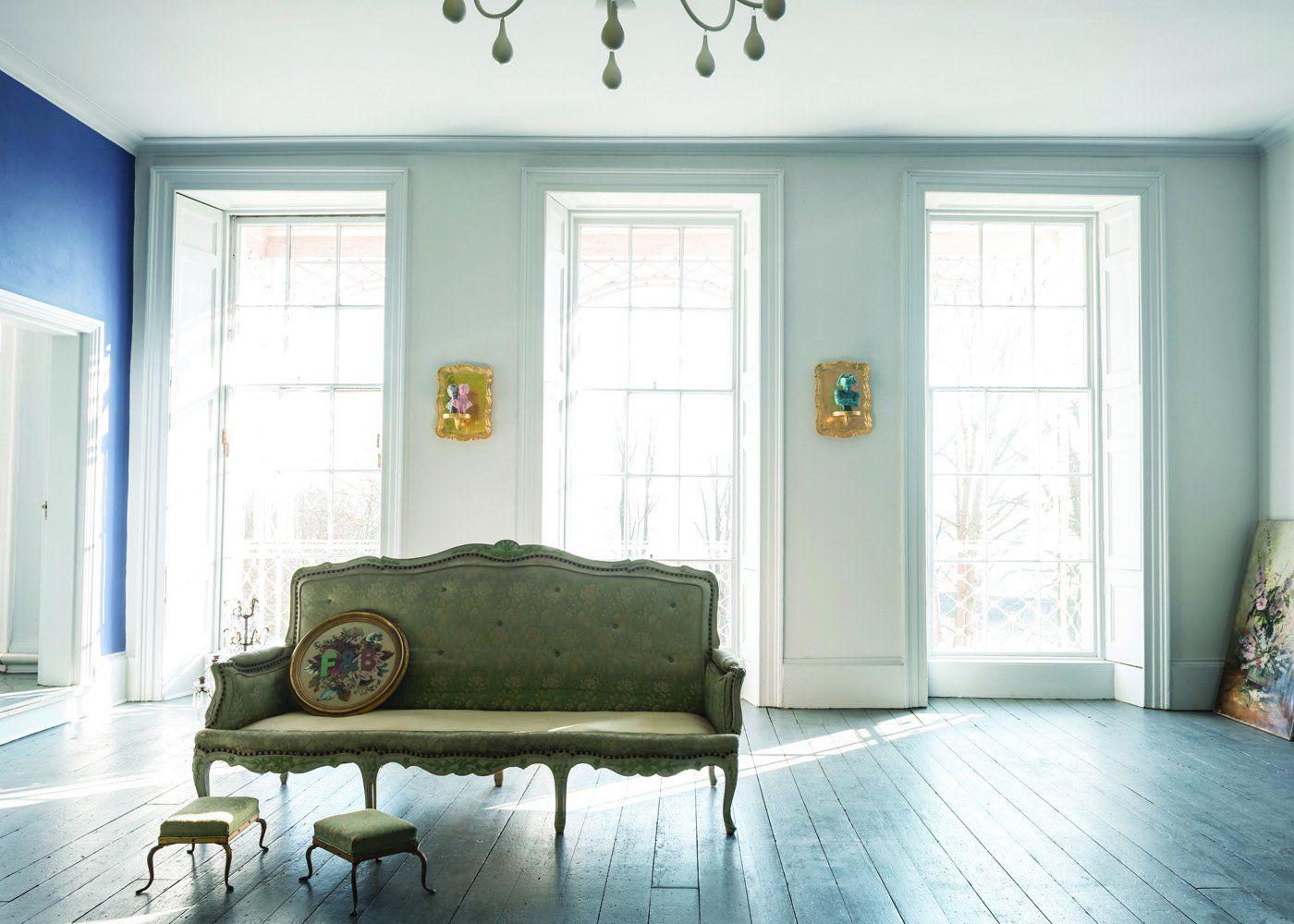 Couleur Les Nouveautes Peinture 2015 Avec Images Peinture Salon Couleur Salon Murs Peints En Bleu