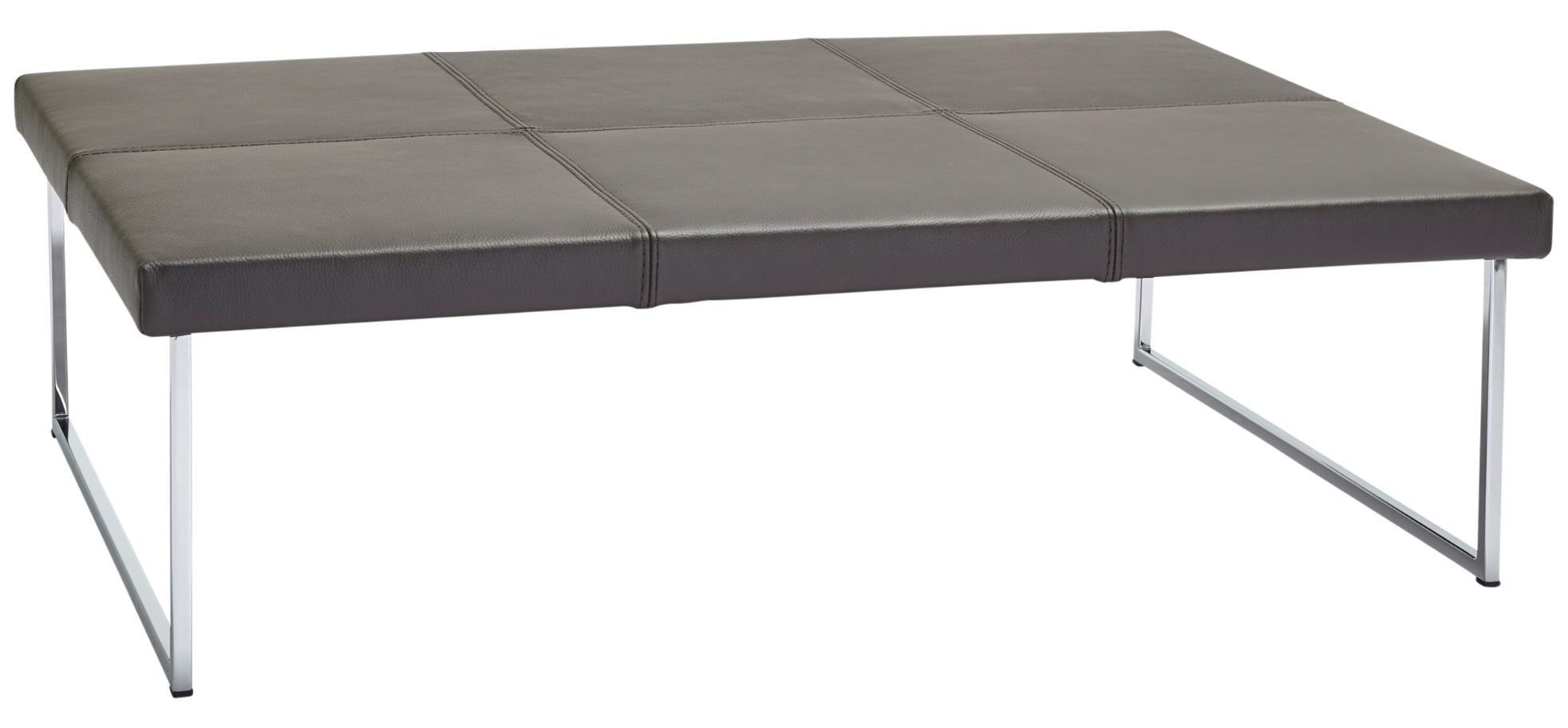 Couchtisch Global Amadora Mit Leder Tischplatte Berkemeier Home Company Couchtisch Couch Couchtische