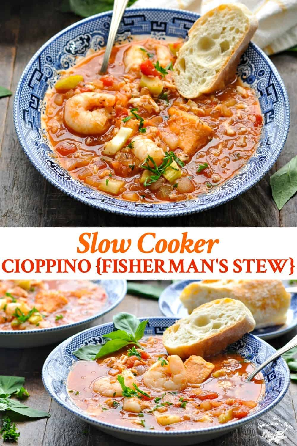 Cioppino Recipe for the Slow Cooker
