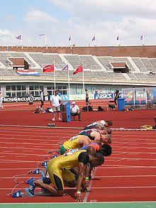 Sprint (athlétisme) — Wikipédia