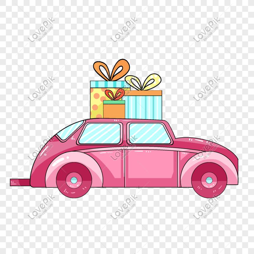 صور الكرتون سيارة هدية التوضيح الوردي 611521891 Id الرسومات بحث صورة Psd Graphics Png Car Illustration Pink Gifts Illustration