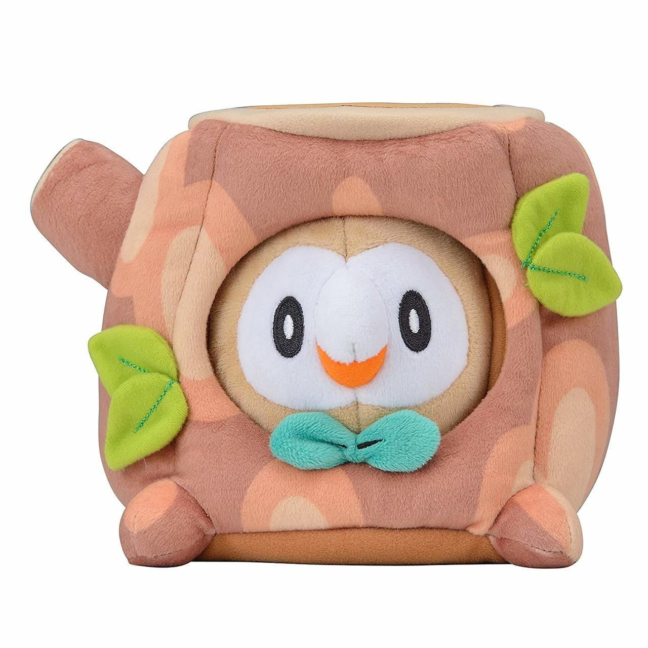 Summer Life Rowlet Plush released by the Pokemon Center -