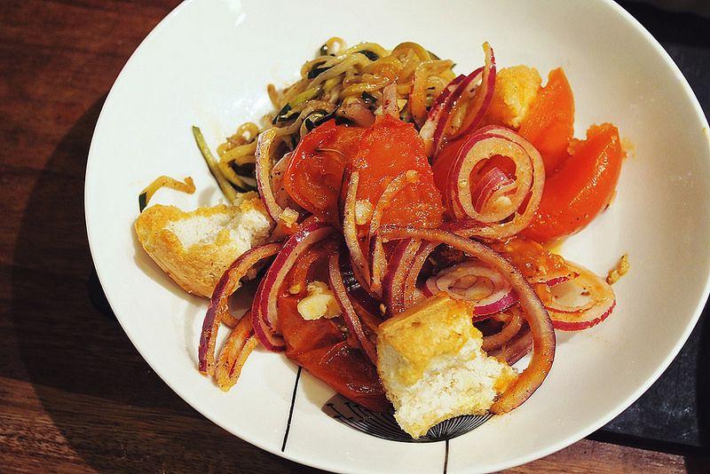 Recipe: Winter tomato and bread salad