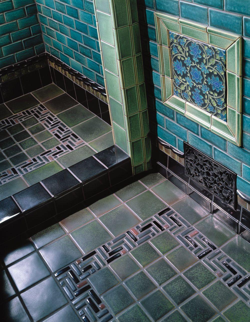 Tapestry Bathroom Art Deco Tiles Mold In Bathroom Art Deco