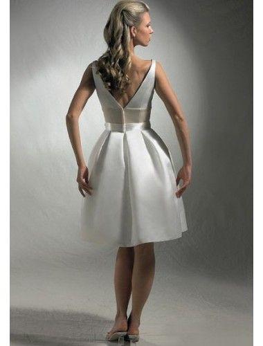 Vestido corte princesa barato