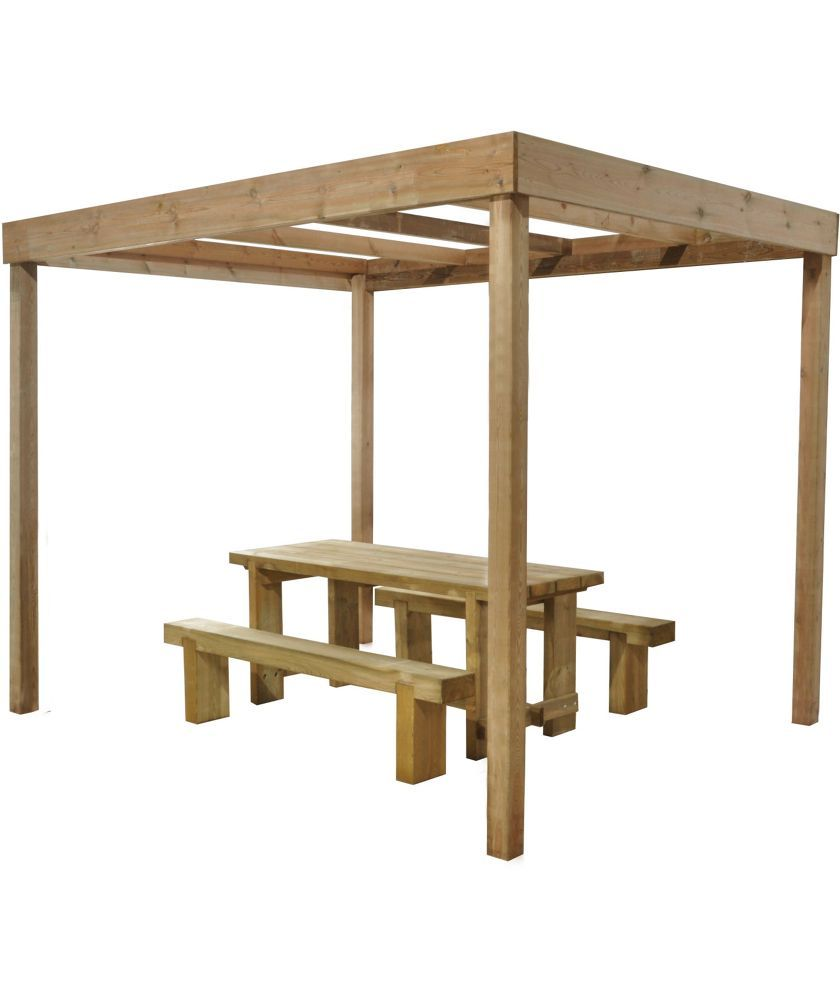 Buy Forest Dining Pergola Without Panels At Argos Co Uk Your