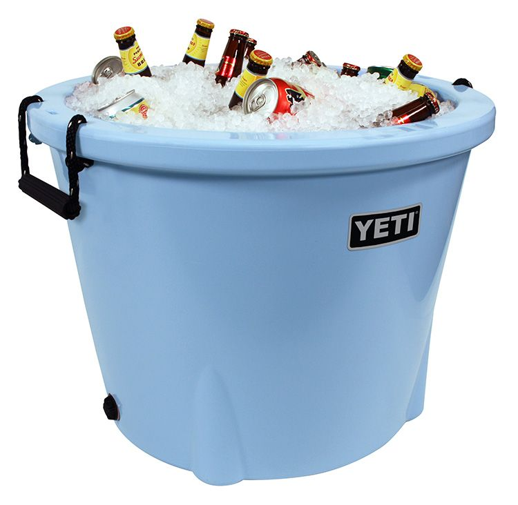 The yeti tank is armored to hold cold like no other ice for Fish tank ice method