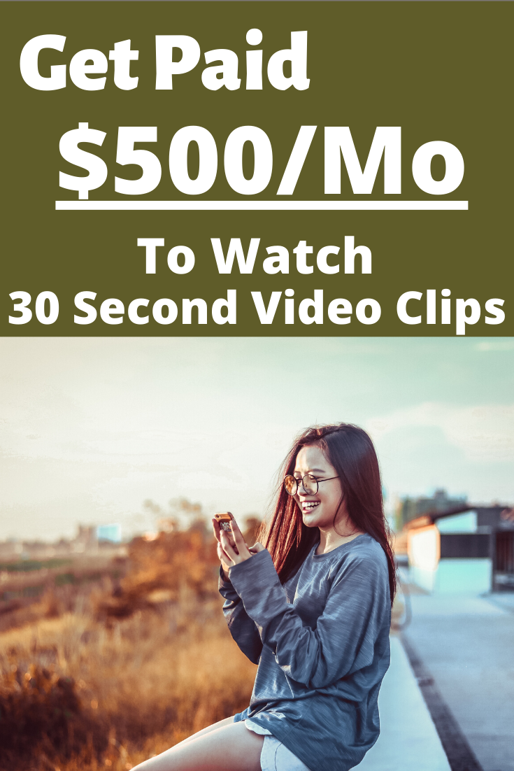 Get Paid To Watch 30 Second Video Clips With Images Make Money From Pinterest How To Get Money Video Clip