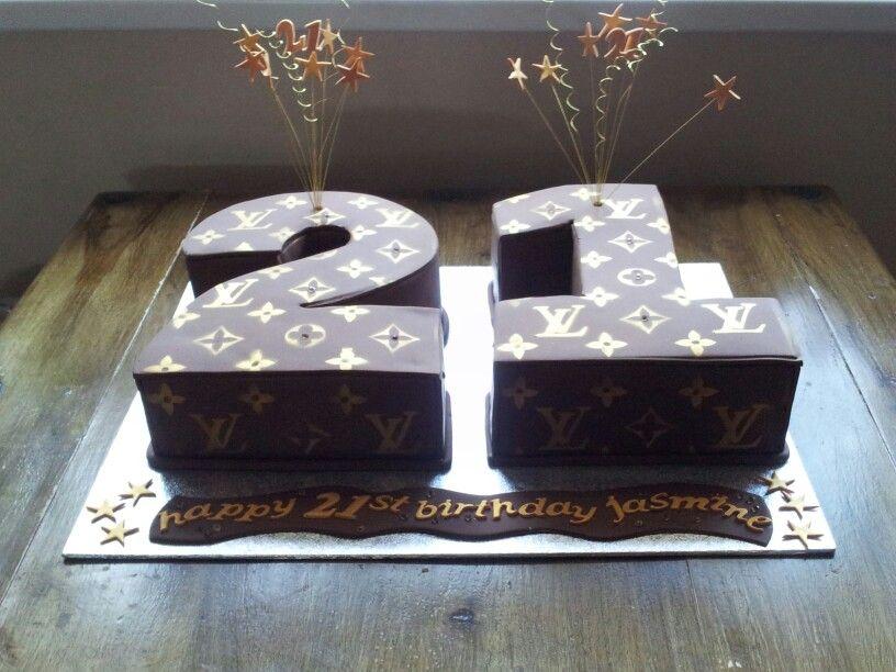 Louis Vuitton 21st Birthday Cake My Flair Lady