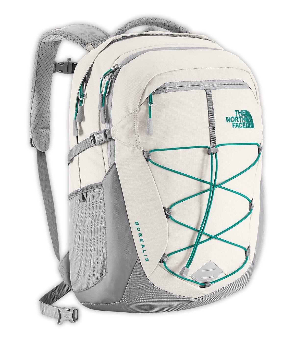 8f040e1ad The north face womens borealis backpack vaporous grey/ kokomg in ...