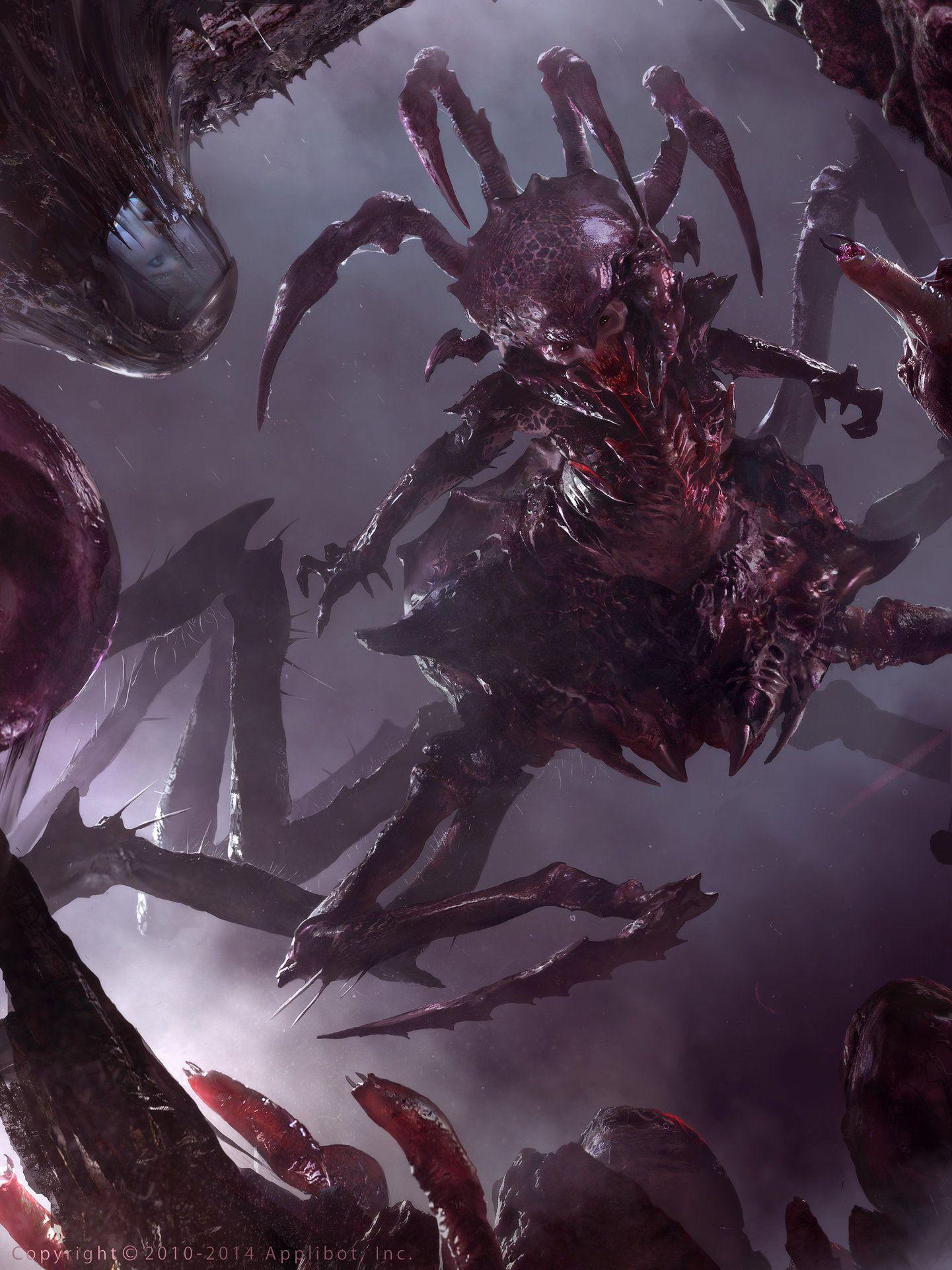ArtStation - Demonic Queen (Advanced), Brad Rigney