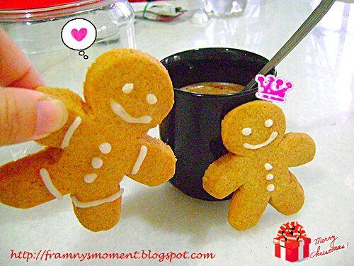 レシピとお料理がひらめくSnapDish - 21件のもぐもぐ - Gingerbread man by Franny